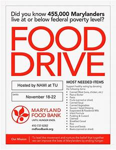 16 Food Drive Flyer Template Free Images - Food Drive ...