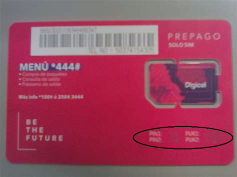 codigo de sim card 191 c 243 mo obtener el c 243 digo puk mobile el salvador