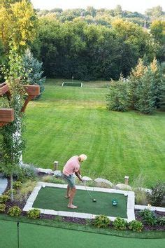 Backyard Golf Drills by Practise Your Putts In Your Own Back Yard Putting