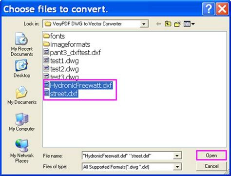 Online converter dwg ⇔ svg. VeryPDF DXF to EPS Converter