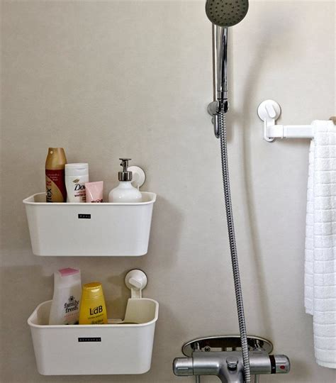 Home Place Bathroom Accessories rescue your toiletries from the bathroom floor with
