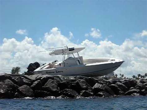 Boat Crash Jupiter jupiter 31 salvage palm inlet september 22 2009 boat