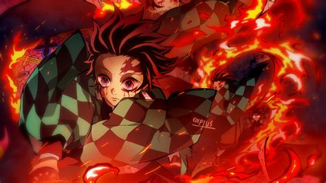 tanjirou kimetsu  yaiba  wallpaper hd anime