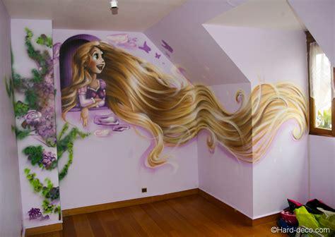 chambre disney princesse décoration chambre raiponce