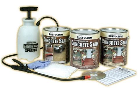 rust oleum professional semi transparent concrete stain