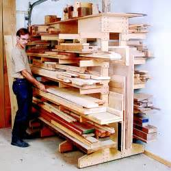 Workshop Cabinet Plans by Modular Lumber Rack Woodworking Plan From Wood Magazine