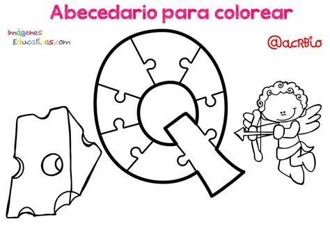 Abecedario para colorear (18) Imagenes Educativas