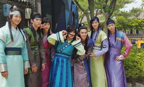 bts  admits    hwarang cast members  scary