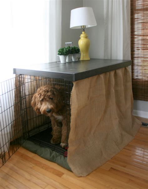 diy dog kennel table top roots wings furniture llc