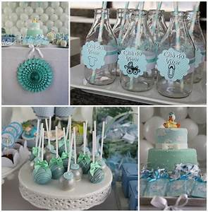 Kara's Party Ideas Little Boy Baby Shower Party Planning