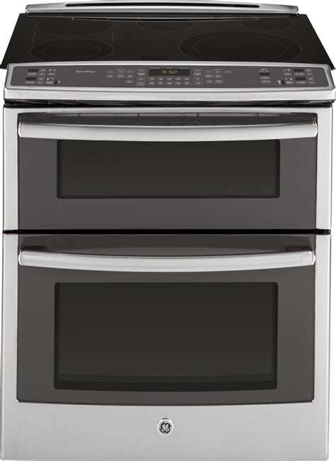 pssfss ge profile    double oven electric range convection stainless steel