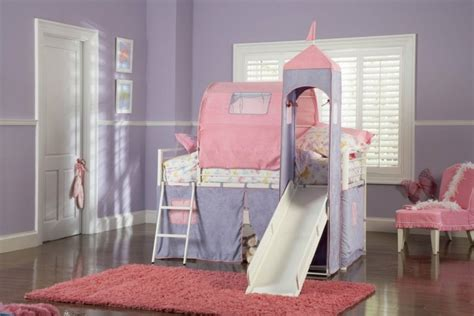 chambre fille lit mezzanine lit enfant cabane et solutions originales pour fille et garçon