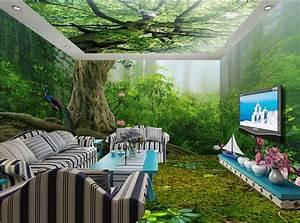 3d Tapete Wald : online kaufen gro handel tapete wald aus china tapete wald gro h ndler ~ Frokenaadalensverden.com Haus und Dekorationen