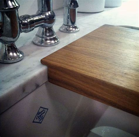 kitchen sink with cutting board tips on getting an integrated cutting board for your sink