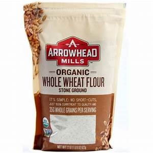 Arrowhead Mills Whole Wheat Flour - 22 oz - eVitamins.com