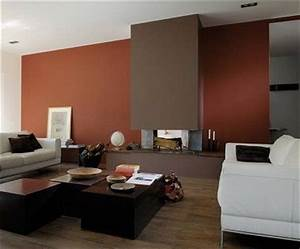 peinture salon 25 couleurs tendance pour repeindre le With wonderful couleur mur salon tendance 8 deco salon moderne couleur orange et taupe