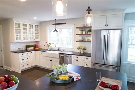 pros  cons  upper kitchen cabinets  open shelves