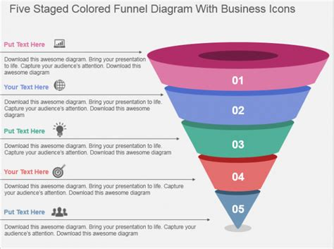 Lead Funnel Template by Learn To Create Funnel Diagram The Slideteam