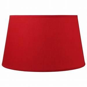 Abat Jour Rouge : abat jour r versible 45cm rouge ~ Teatrodelosmanantiales.com Idées de Décoration