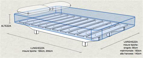 materasso misure quanto misura un letto singolo