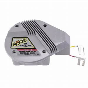 Accel 140003 Gm High Energy Hei Super Coil  Red  Yellow