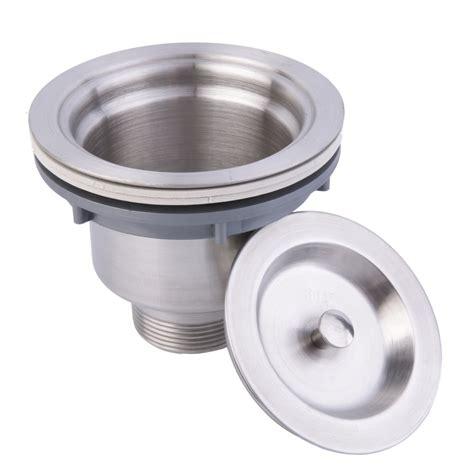 kitchen sink drain strainer stainless steel kitchen sink drain assembly waste