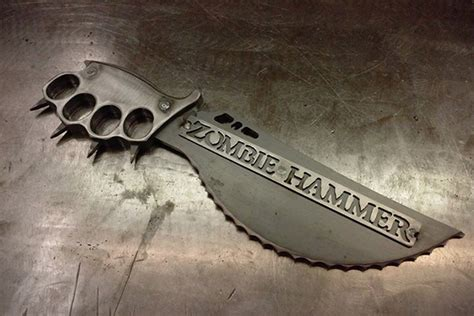zombie weapons survival hammer defense self apocalypse knife zombies defence weapon knives gear axe hiconsumption ass perfect tools guns preppers
