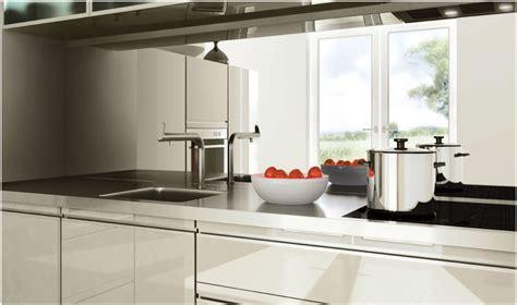 cr馘ence en miroir pour cuisine miroir credence table de cuisine