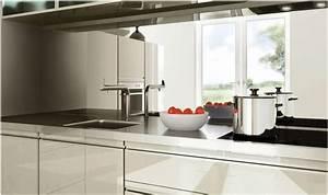 credence inox miroir cuisine ciabizcom With credence miroir pour cuisine