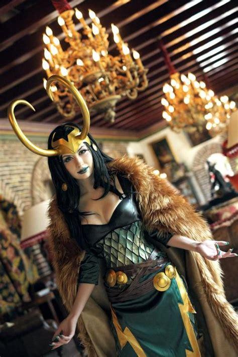Cosplay Marvel Loki Lady Loki Elrincondeharlock