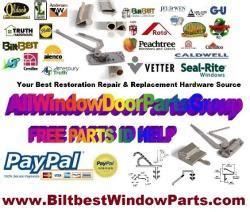 fenestra  arm style face mounted casement operator crank window assembly biltbest window parts