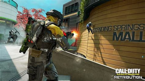 call  duty infinite warfare le trailer de gameplay du