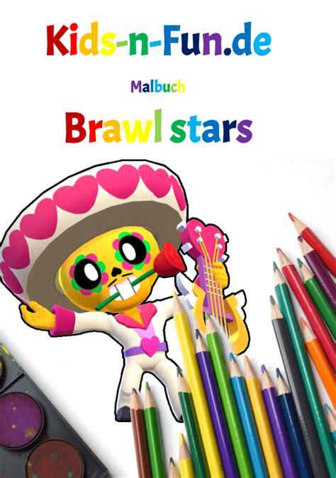 kids  funde malbuch brawl stars