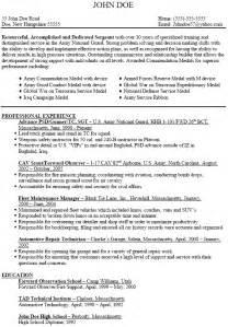 army resume resume builder for ex bestsellerbookdb
