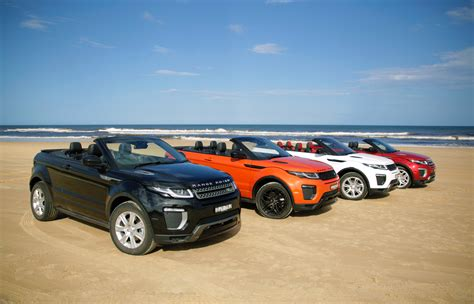 Land Rover Range Rover Evoque Convertible Prototype Front