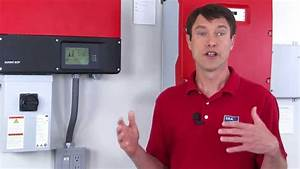 Tech Tip  Installation Tips For The Sunny Boy Tl-us Series
