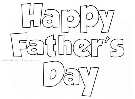 Kleurplaat Happy by Happy Fathers Day Coloring Pages Coloringsuite