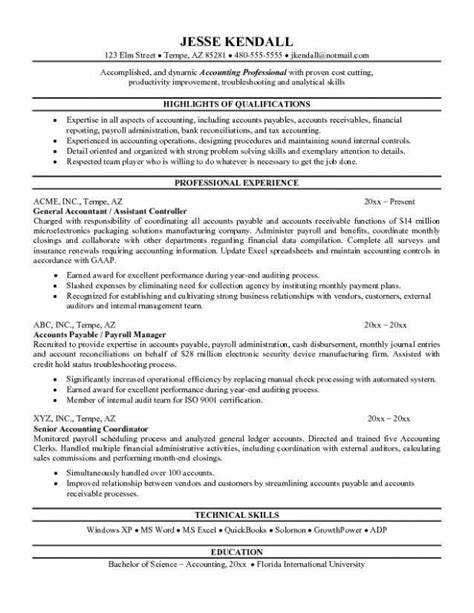 doc 12751650 accounting resume objectives for objective