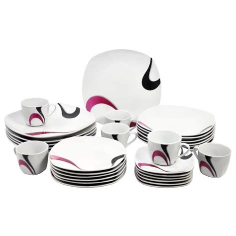 photo service de table complet vaisselle maison