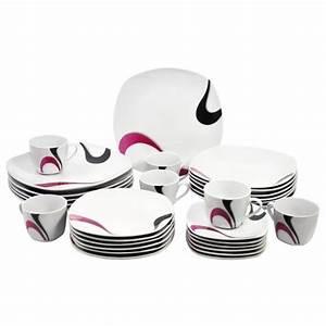 Service Vaisselle Porcelaine : photo service de table complet vaisselle maison ~ Teatrodelosmanantiales.com Idées de Décoration