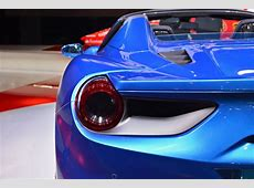 2017 Ferrari 488 Spider Tail Light carsautodrive