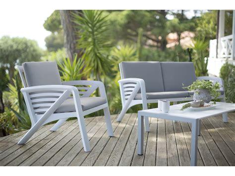 canape de jardin stunning salon de jardin canape resine images