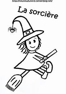 Dessin Facile Halloween : coloriage halloween sorciere ~ Melissatoandfro.com Idées de Décoration
