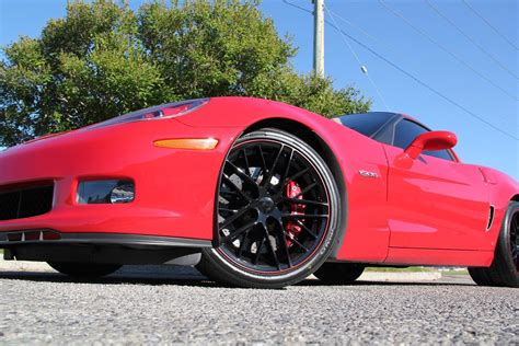 chevrolet corvette  lz zr wheel pkg corsa