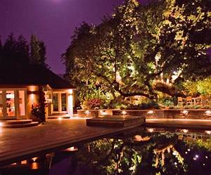 backyard lighting landscaping network With outdoor lights for oak trees