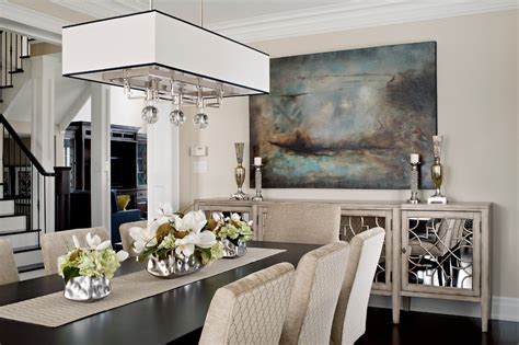 Elegant Dining Room Sideboard Decorating Ideas
