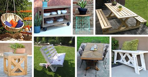 29 Best Diy Outdoor Furniture Projects (ideas And Designs