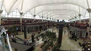 DIA Main Terminal Denver International Airport - YouTube