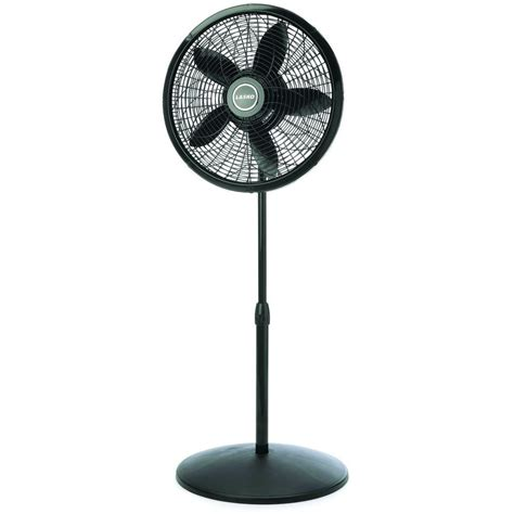 lasko 1843 18 remote control cyclone pedestal fan black lasko 18 in cyclone pedestal fan in black with remote