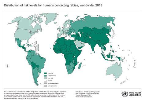 Rabies Epidemiology Map